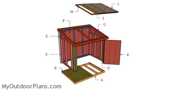 Simple Portable Generator Shelter : Portable generator enclosure plans myoutdoorplans free