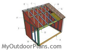 Building a horse shed