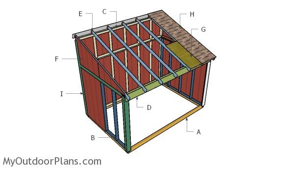 Horse Shed Roof Plans