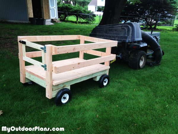 Building-a-mower-tractor-wagon