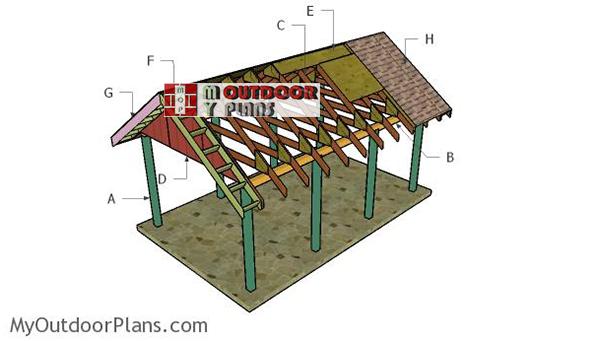Building-a-single-car-carport