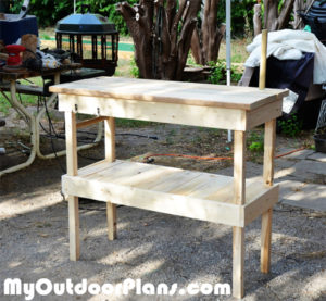 Building-a-wood-bbq-table