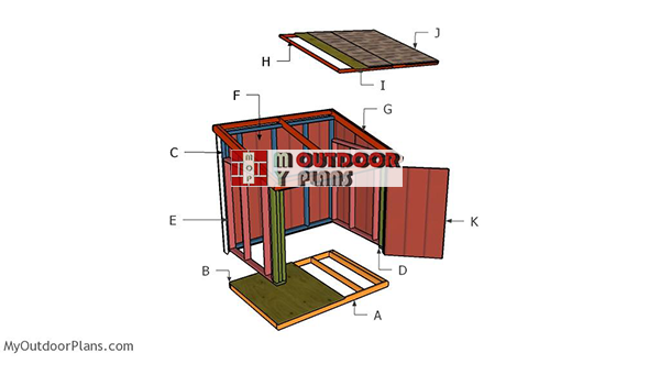 Building--a generator-shed