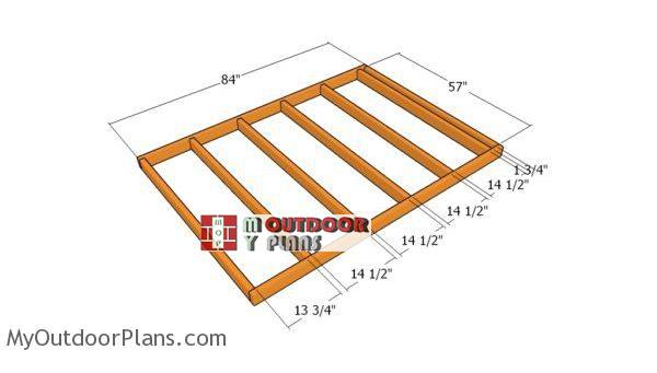 Building-the-floor-frame-generator-shed