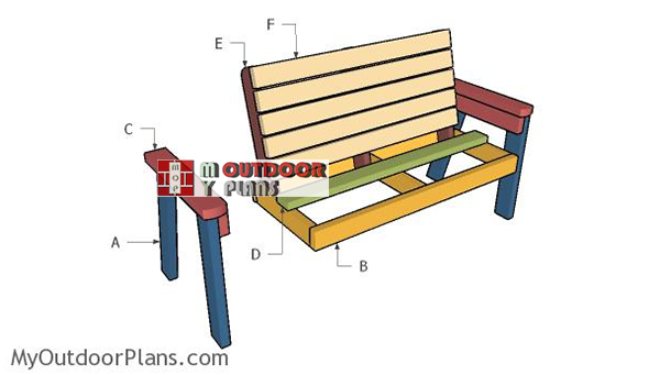Building-the-garden-bench