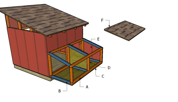 Building the nesting boxes