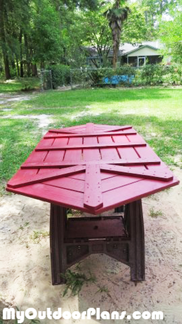 DIY Large Picnic Table | MyOutdoorPlans | Free Woodworking ...