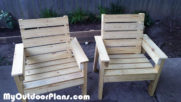 DIY Backyard Chair