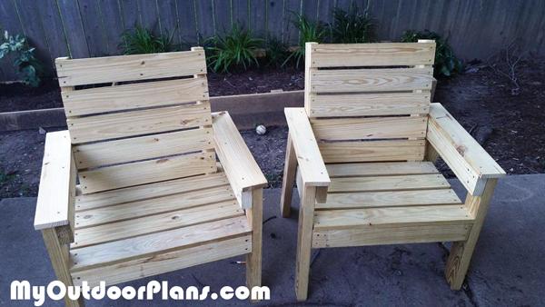 DIY Backyard Chair