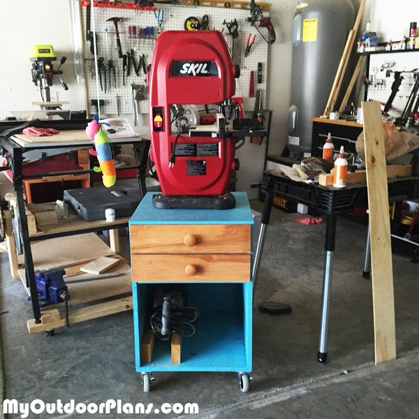 DIY Band Saw Stand