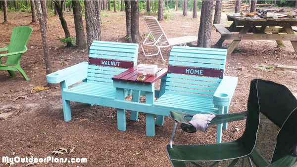 DIY-Double-Chair-Bench-with-Cupholders
