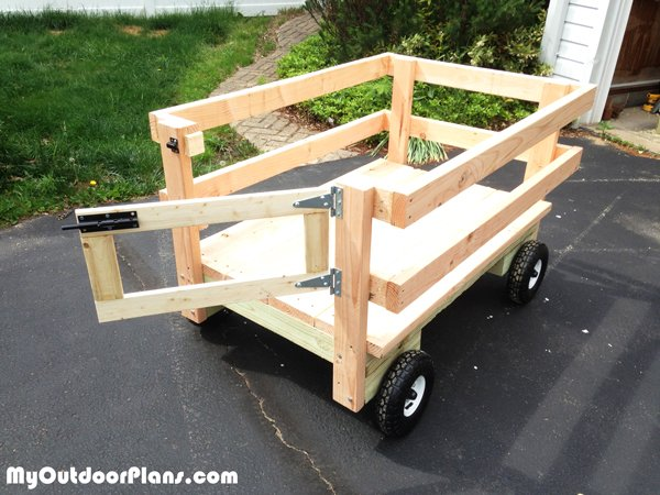 DIY Wagon for the Riding Mower | MyOutdoorPlans | Free ...