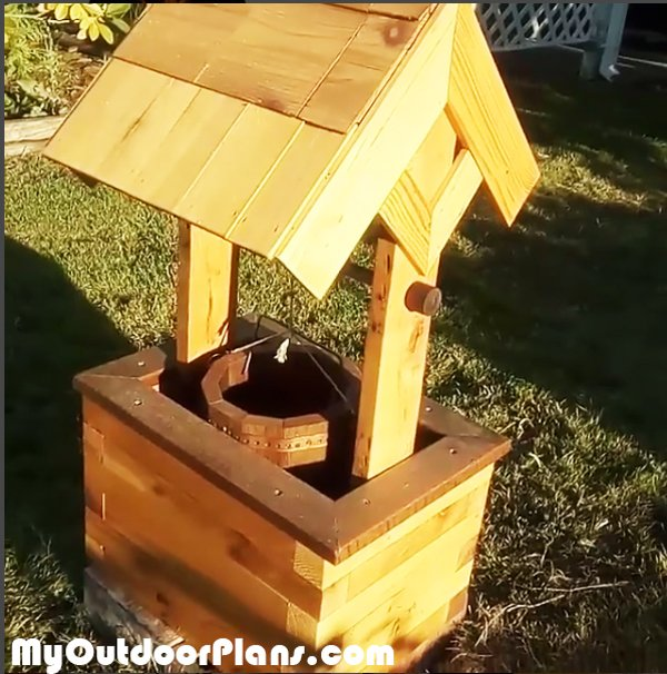 DIY Wishing Well Planter Plans