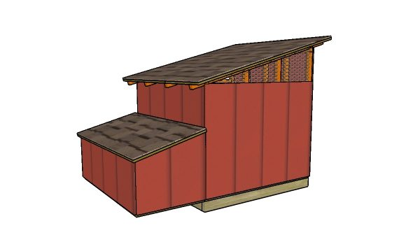 DIY duck house