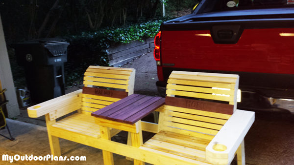 Double-chair-bench-with-cupholders