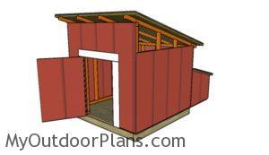 Duck coop plans