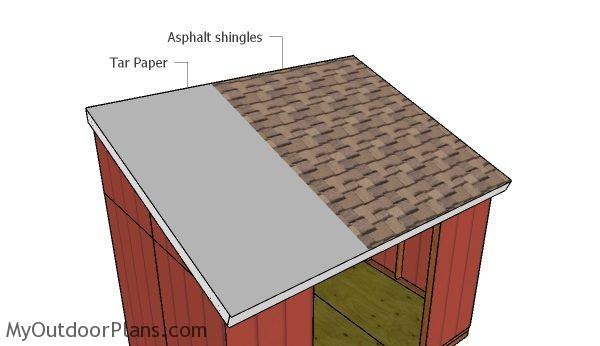 Lean To Shed Roof Plans Myoutdoorplans Free