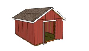 How to build a 12x16 shed