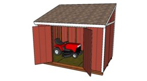 8×12 Lean To Shed Plans