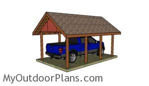 How to builld a carport