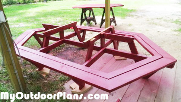 Picnic-benches
