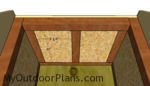 Side wall insulation