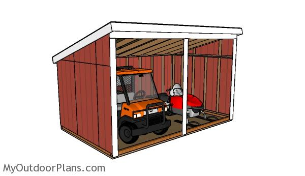 Free Run In Shed Plans