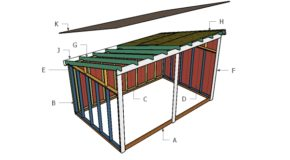 Run In Shed Roof Plans