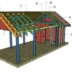 Carport with Storage Roof Plans