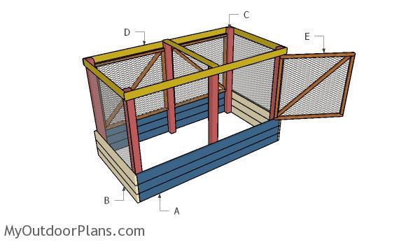 Deer Proof Raised Garden Bed Myoutdoorplans Free Woodworking