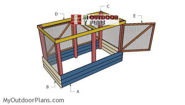 Building-a-deer-proof-raised-garden-bed
