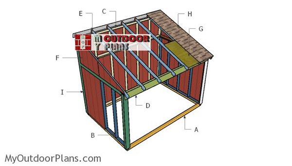 Building-a-horse-shed
