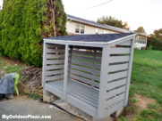 DIY 1 Cord Firewood Shed