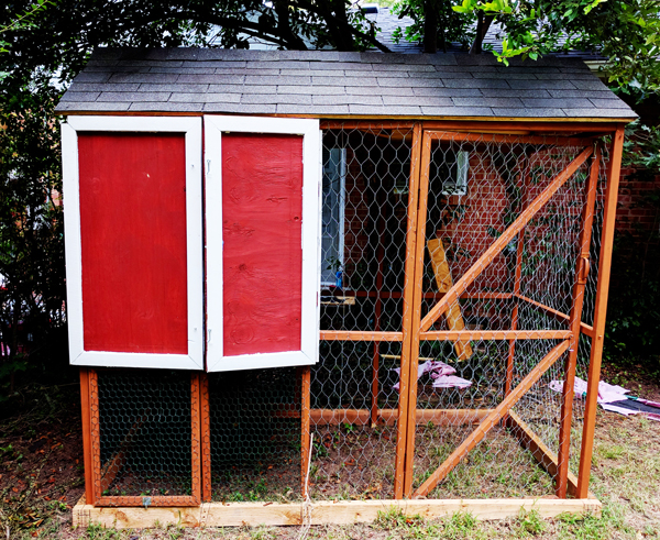 DIY 4x8 Chicken Coop