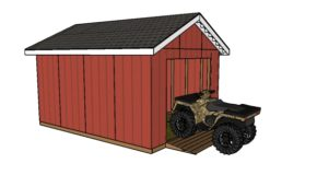ATV Shed Ramp Plans