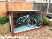 DIY Bike Shed