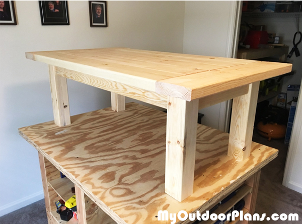 DIY Farmhouse Coffee Table | MyOutdoorPlans | Free Woodworking Plans and Projects, DIY Shed ...