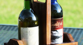 DIY Double Wine Caddy