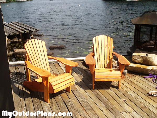 DIY Kids Adirondack Chairs
