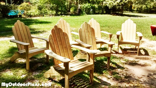 DIY Old School Adirondack Chairs