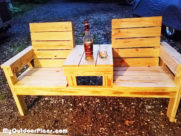 DIY Wood Bench
