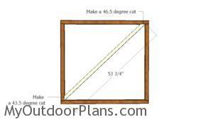 diagonal-brace