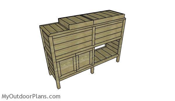 double-wood-cooler-plans