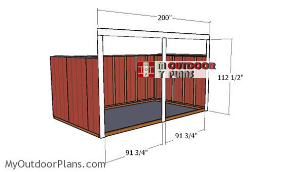 Fitting-the-front-wall-supports
