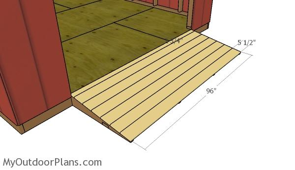 Atv Shed Ramp Plans Myoutdoorplans Free Woodworking
