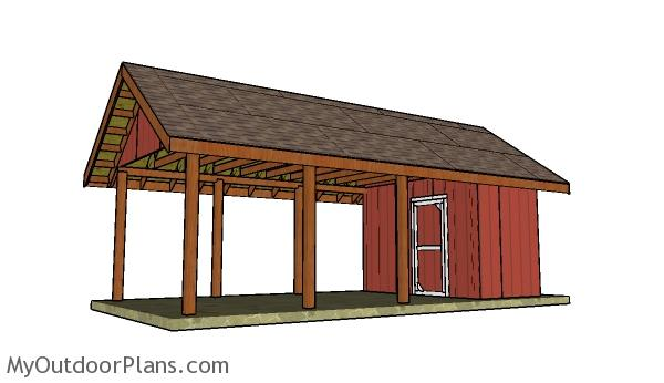 how-to-build-a-carport-with-storage