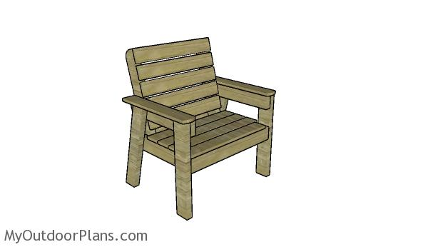 Large Outdoor Chair Plans