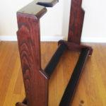 DIY Wooden Multi Guitar Stand