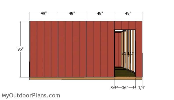 side-wall-with-door