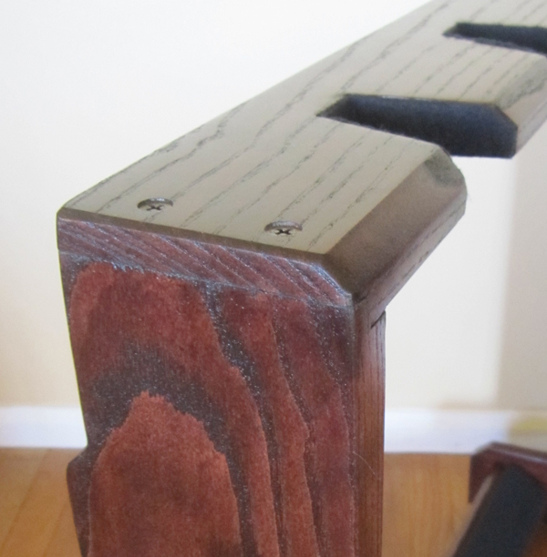 Diy Wooden Multi Guitar Stand Myoutdoorplans Free
